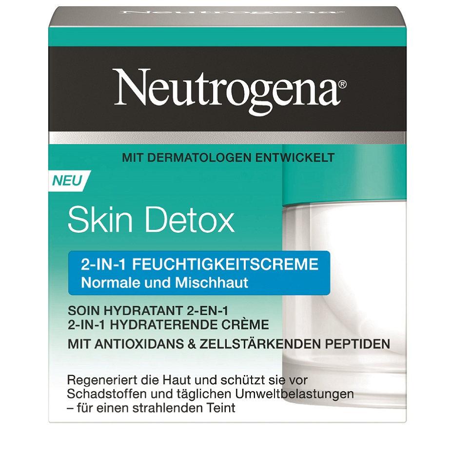 Skin Detox 2-In-1 Hydraterende Crème